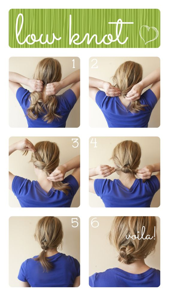 How To Make A Low Bun With Medium Length Hair - Best Hairstyles 2017